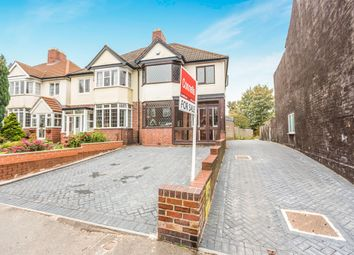 Thumbnail 3 bed semi-detached house for sale in Metchley Lane, Harborne, Birmingham
