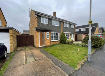Thumbnail 3 bed semi-detached house to rent in Loftus Close, Luton