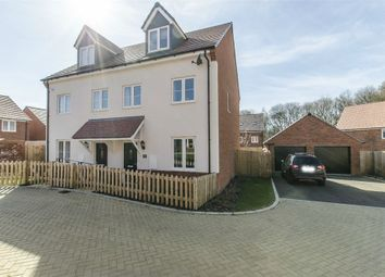 Thumbnail 3 bed semi-detached house for sale in Chiltern Crescent, Fair Oak, Eastleigh, Hampshire