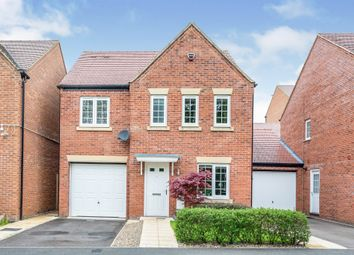 Thumbnail 4 bed detached house for sale in Horse Fair Lane, Rothwell, Kettering
