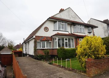 Thumbnail 3 bed semi-detached house for sale in Winkworth Road, Banstead