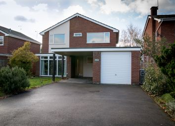 Thumbnail 4 bed detached house for sale in Jacklin Drive, Coventry