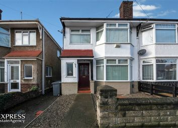 Thumbnail 3 bed semi-detached house for sale in Gainsborough Road, Wallasey, Merseyside