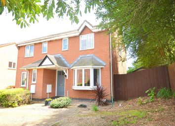 Thumbnail 3 bedroom semi-detached house for sale in Elter Water, Stukeley Meadows, Huntingdon, Cambridgeshire
