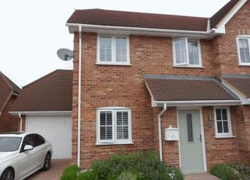 Thumbnail 3 bed semi-detached house to rent in Stowe Close, Padworth, Reading