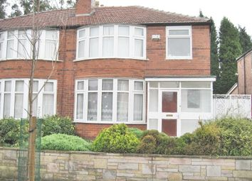 Thumbnail 4 bed property to rent in Ashdene Road, Withington, Manchester