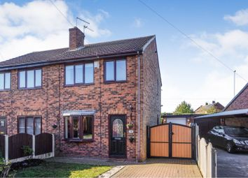 Thumbnail 3 bedroom semi-detached house for sale in Fieldside Road, Kinsley, Pontefract
