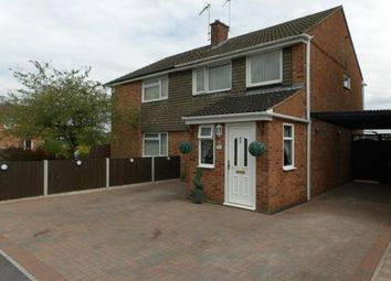 Thumbnail 3 bed semi-detached house for sale in Peartree Close, Anstey, Leicester, Leicestershire
