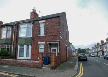 Thumbnail 2 bed flat for sale in Crofton Street, South Shields