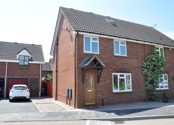 Thumbnail 3 bed semi-detached house for sale in Babblebrook Mews, Pinhoe, Exeter