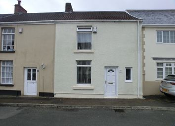 Thumbnail 2 bed terraced house for sale in Weig Lane, Gendros, Swansea.