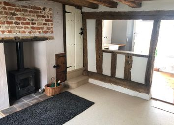 Thumbnail 1 bed cottage to rent in Front Street, Mendlesham, Stowmarket, Suffolk