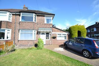 Thumbnail 3 bed semi-detached house to rent in Lacey Avenue, Wilmslow, Cheshire