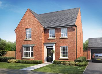 "Thumbnail 4 bed detached house for sale in ""Holden"" at Rush Lane, Market Drayton"