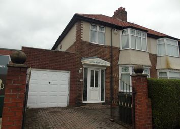 Thumbnail 3 bed semi-detached house for sale in Shields Road, Walkerville, Newcastle Upon Tyne