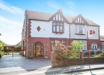 Thumbnail 4 bed semi-detached house for sale in Styal Road, Heald Green, Cheadle, Greater Manchester