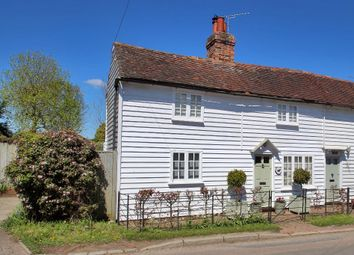 Thumbnail 2 bed semi-detached house for sale in Coveney Cottages, Iden Green Road, Iden Green, Kent