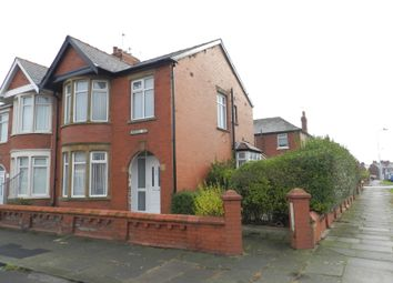 Thumbnail 3 bedroom semi-detached house to rent in Campbell Avenue, Blackpool