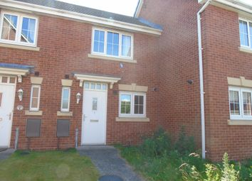 Thumbnail 2 bed terraced house to rent in Manor Court, Newbiggin-By-The-Sea