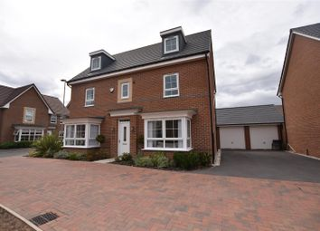 Thumbnail 5 bed detached house for sale in Sand Martin Close, East Leake, Loughborough