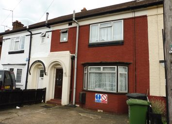 Thumbnail 3 bed terraced house for sale in Kent Road, Luton