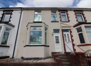 Thumbnail 3 bed terraced house for sale in Glanddu Road, Fleur De Lis, Blackwood