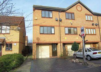 Thumbnail 3 bedroom town house for sale in Chetwode Avenue, Monkston, Milton Keynes