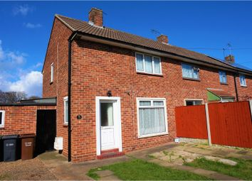Thumbnail 2 bed semi-detached house for sale in Queen Elizabeth Road, Lincoln