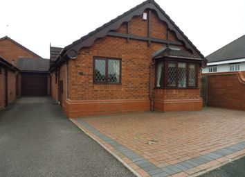 Thumbnail 2 bed detached bungalow for sale in Spinners End Drive, Cradley Heath