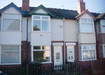 Thumbnail 2 bed terraced house to rent in Old Church Road, Little Heath, Coventry, West Midlands