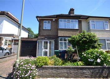 Thumbnail 3 bed semi-detached house for sale in Derwent Crescent, Whetstone, London
