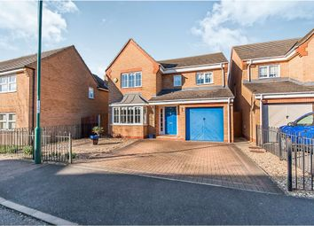 Thumbnail 4 bedroom detached house for sale in Leaf Avenue, Hampton Hargate, Peterborough