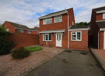Thumbnail 3 bed detached house for sale in Yew Tree Avenue, Lichfield, Staffordshire