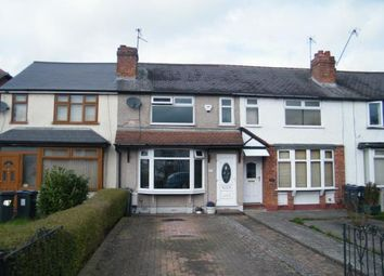 Thumbnail 2 bed terraced house for sale in Redditch Road, Kings Norton, Birmingham, West Midlands
