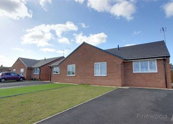Thumbnail 2 bed semi-detached bungalow to rent in Church Row, Church Road, Mansfield, Nottinghamshire