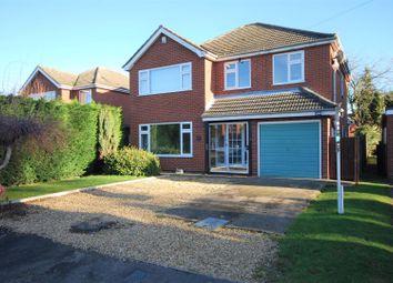 Thumbnail 4 bed detached house for sale in Hatt Close, Moulton, Spalding