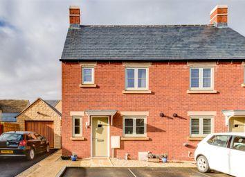 Thumbnail 3 bed semi-detached house for sale in Beechcraft Road, Upper Rissington, Cheltenham
