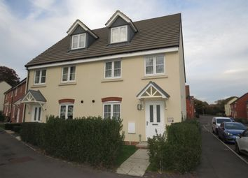 Thumbnail 3 bed semi-detached house for sale in Heeks Crescent, Hilperton, Trowbridge