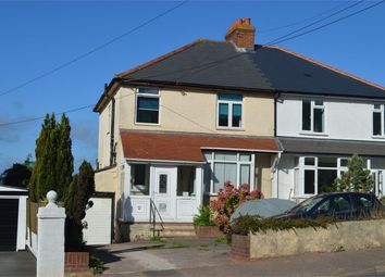 Thumbnail 3 bed semi-detached house for sale in Exeter Road, Exmouth, Devon
