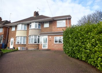 Thumbnail 4 bed semi-detached house for sale in Wagon Lane, Solihull