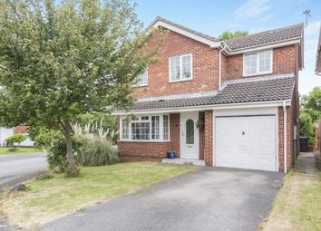 Thumbnail 4 bed detached house for sale in Plover Crescent, Leicester