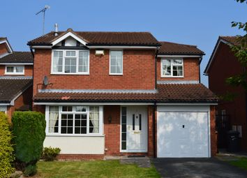 Thumbnail 4 bedroom detached house to rent in Priory Close, Crewe