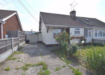 Thumbnail 1 bed semi-detached bungalow for sale in Craven Avenue, Canvey Island, Essex