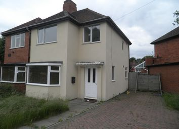 Thumbnail 3 bed semi-detached house to rent in Sterndale Road, Great Barr, Birmingham