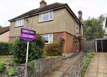 Thumbnail 3 bed semi-detached house for sale in Channels Farm Road, Swaythling, Southampton