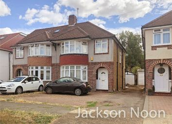 Thumbnail 3 bed semi-detached house for sale in Station Avenue, West Ewell, Epsom