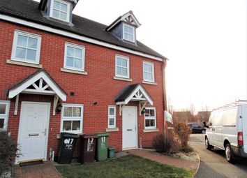 Thumbnail 3 bed end terrace house to rent in Flatford Close, Corby, Northamptonshire