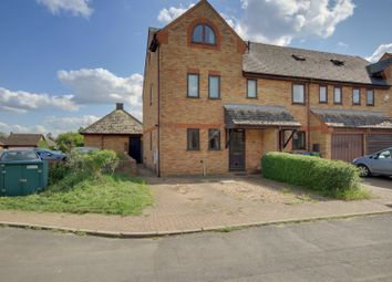 Thumbnail 3 bedroom end terrace house to rent in Wallmans Lane, Swavesey, Cambridge
