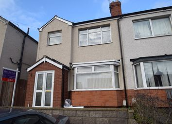 Thumbnail 4 bedroom semi-detached house to rent in Audley Road, Newport