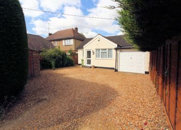 Thumbnail 3 bed bungalow for sale in London Road, Newport Pagnell, Buckinghamshire